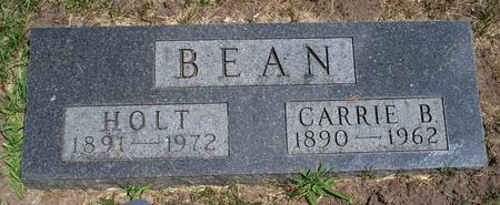 BEAN, HOLT - Floyd County, Iowa | HOLT BEAN