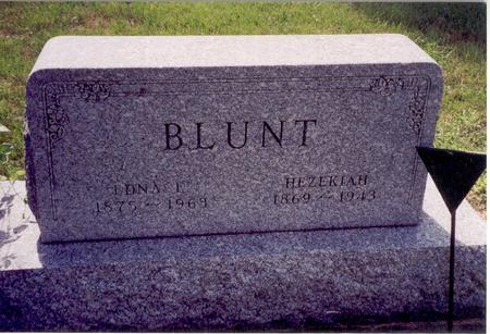 BLUNT, EDNA L. - Floyd County, Iowa | EDNA L. BLUNT