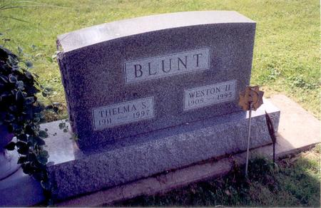 BLUNT, WESTON H. - Floyd County, Iowa | WESTON H. BLUNT