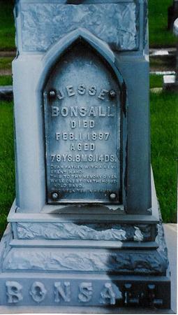 BONSALL, JESSE - Floyd County, Iowa   JESSE BONSALL