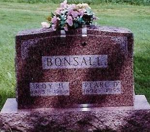 BONSALL, ROY HOWARD - Floyd County, Iowa | ROY HOWARD BONSALL