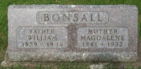 BONSALL, WILLIAM - Floyd County, Iowa | WILLIAM BONSALL