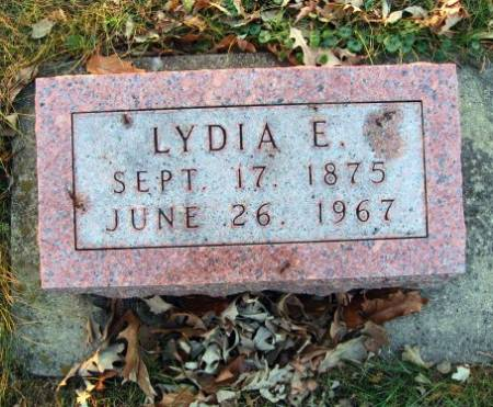 BREMER, LYDIA E. - Floyd County, Iowa   LYDIA E. BREMER