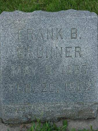 BRUNNER, FRANK B. - Floyd County, Iowa | FRANK B. BRUNNER