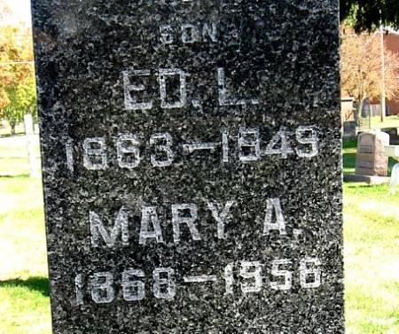 BUTLER, MARY A. - Floyd County, Iowa   MARY A. BUTLER