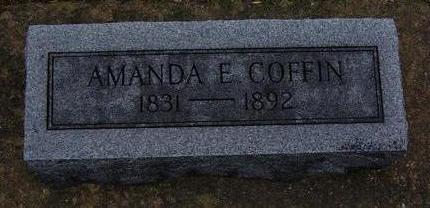 COFFIN, AMANDA E. - Floyd County, Iowa   AMANDA E. COFFIN