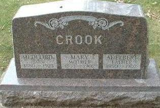 CROOK, MARY - Floyd County, Iowa | MARY CROOK