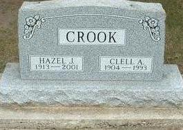 CROOK, CLELL A. - Floyd County, Iowa | CLELL A. CROOK