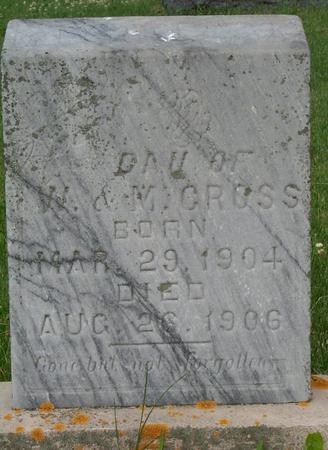 CROSS, DAU. OF W. & M. - Floyd County, Iowa | DAU. OF W. & M. CROSS