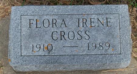 CROSS, FLORA IRENE - Floyd County, Iowa | FLORA IRENE CROSS