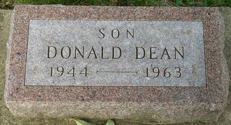 DEAN, DONALD - Floyd County, Iowa | DONALD DEAN