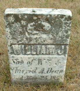 DEAN, WILLIAM J - Floyd County, Iowa | WILLIAM J DEAN
