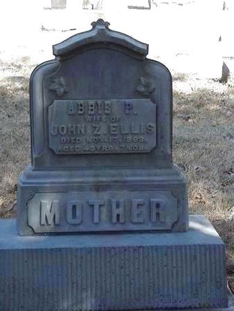 ELLIS, ABBIE P. - Floyd County, Iowa | ABBIE P. ELLIS