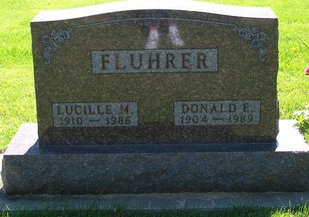 FLUHRER, LUCILLE - Floyd County, Iowa | LUCILLE FLUHRER