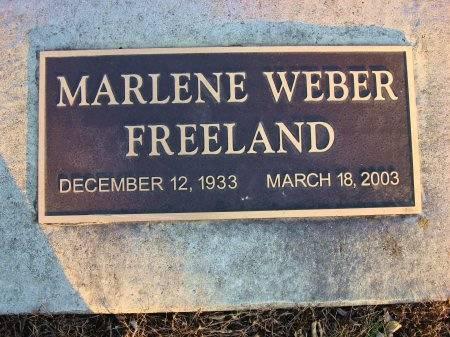 WEBER FREELAND, MARLENE - Floyd County, Iowa | MARLENE WEBER FREELAND