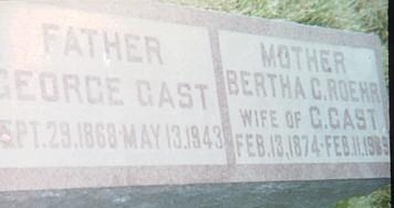 GAST, BERTHA C. - Floyd County, Iowa | BERTHA C. GAST