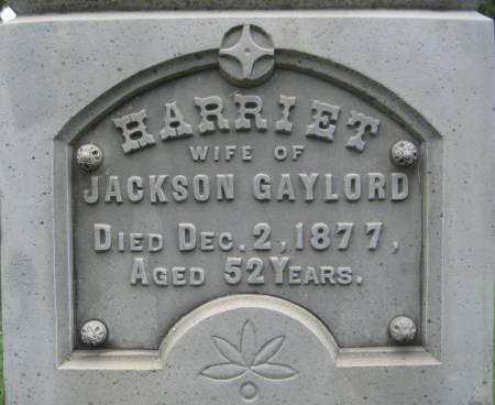 GAYLORD, HARRIET - Floyd County, Iowa | HARRIET GAYLORD
