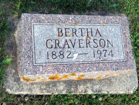 GRAVERSON, BERTHA - Floyd County, Iowa | BERTHA GRAVERSON