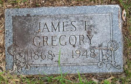 GREGORY, JAMES F. - Floyd County, Iowa | JAMES F. GREGORY