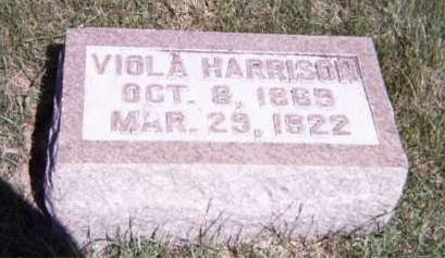 HARRISON, VIOLA - Floyd County, Iowa | VIOLA HARRISON