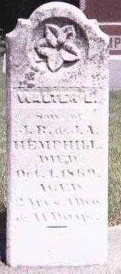 HEMPHILL, WALTER - Floyd County, Iowa | WALTER HEMPHILL