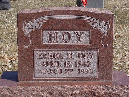 HOY, ERROL DENIS - Floyd County, Iowa | ERROL DENIS HOY