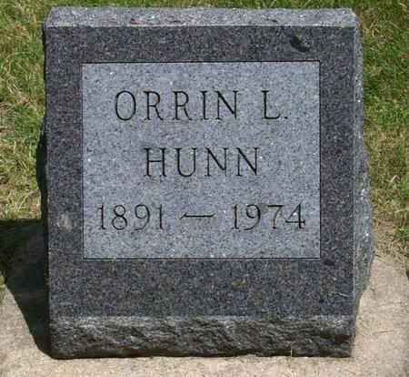 HUNN, ORRIN LEROY - Floyd County, Iowa | ORRIN LEROY HUNN