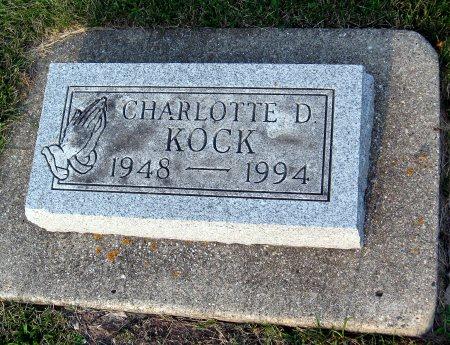 KOCK, CHARLOTTE D. - Floyd County, Iowa | CHARLOTTE D. KOCK