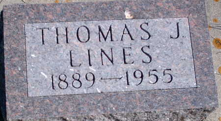 LINES, THOMAS JOHN - Floyd County, Iowa   THOMAS JOHN LINES