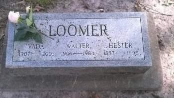 LOOMER, WALTER - Floyd County, Iowa | WALTER LOOMER
