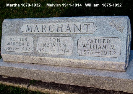 MARCHANT, WILLIAM M. - Floyd County, Iowa | WILLIAM M. MARCHANT