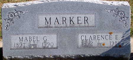 MARKER, MABEL G - Floyd County, Iowa | MABEL G MARKER