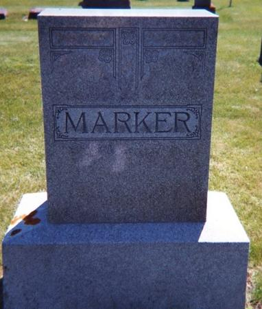 MARKER, JOHN W. - Floyd County, Iowa | JOHN W. MARKER