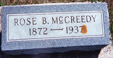 MCCREEDY, ROSE B. - Floyd County, Iowa | ROSE B. MCCREEDY
