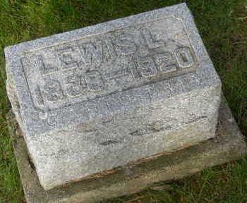 MILLER, LEWIS LABAR - Floyd County, Iowa   LEWIS LABAR MILLER