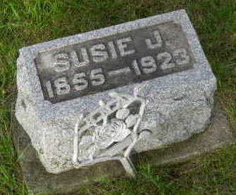 HARTGROVE MILLER, SUSAN JANE - Floyd County, Iowa   SUSAN JANE HARTGROVE MILLER