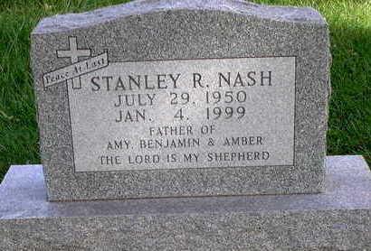 NASH, STANLEY R - Floyd County, Iowa   STANLEY R NASH