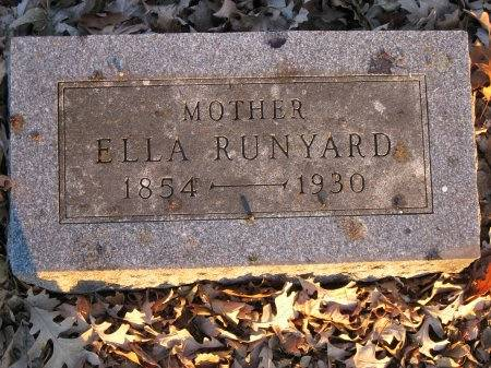RUNYARD, ELLA - Floyd County, Iowa   ELLA RUNYARD