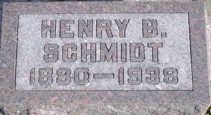 SCHMIDT, HENRY B - Floyd County, Iowa   HENRY B SCHMIDT