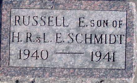 SCHMIDT, RUSSELL - Floyd County, Iowa | RUSSELL SCHMIDT