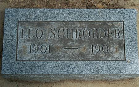 SCHROEDER, LEO - Floyd County, Iowa | LEO SCHROEDER