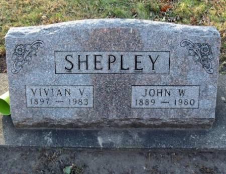 SHEPLEY, VIVIAN V - Floyd County, Iowa | VIVIAN V SHEPLEY
