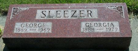 SLEEZER, GEORGE - Floyd County, Iowa | GEORGE SLEEZER