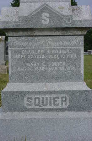 BRUCE SQUIER, MARY E. - Floyd County, Iowa | MARY E. BRUCE SQUIER