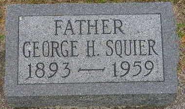 SQUIER, GEORGE H. - Floyd County, Iowa | GEORGE H. SQUIER