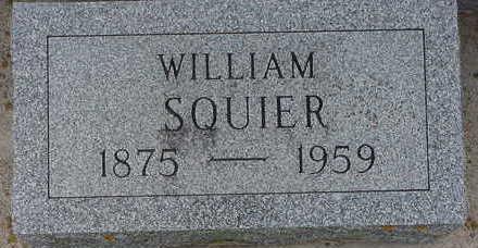 SQUIER, WILLIAM - Floyd County, Iowa | WILLIAM SQUIER