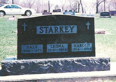 VANDEVENTER STARKEY, LEONA - Floyd County, Iowa | LEONA VANDEVENTER STARKEY