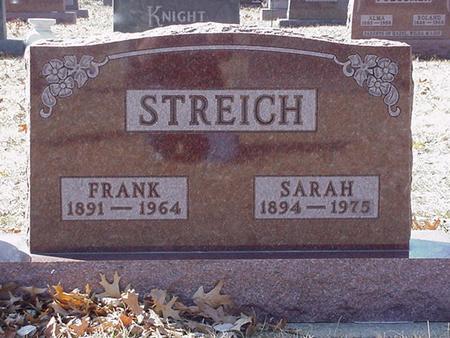 STREICH, FRANK OTTO & SARAH - Floyd County, Iowa | FRANK OTTO & SARAH STREICH