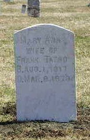 WHEELER TATRO, MARY ANN - Floyd County, Iowa | MARY ANN WHEELER TATRO