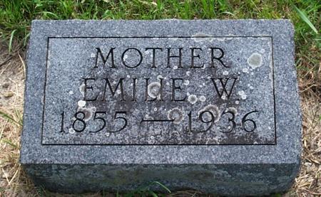 TETZLOFF, EMILIE W. - Floyd County, Iowa | EMILIE W. TETZLOFF